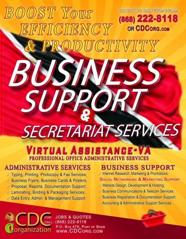 CDC Virtual Assistance (VA) Business Administrative & Secretariat Support Services