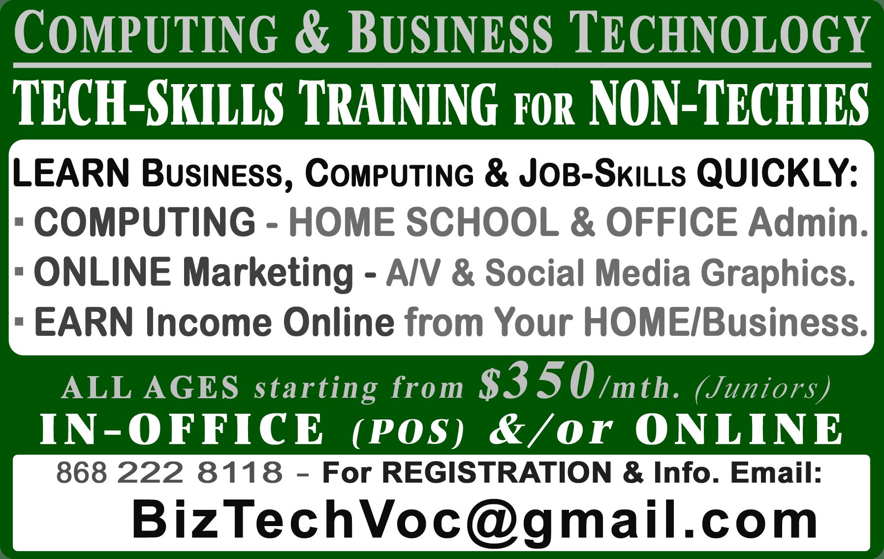 BizTech Business & Technology Skills Training