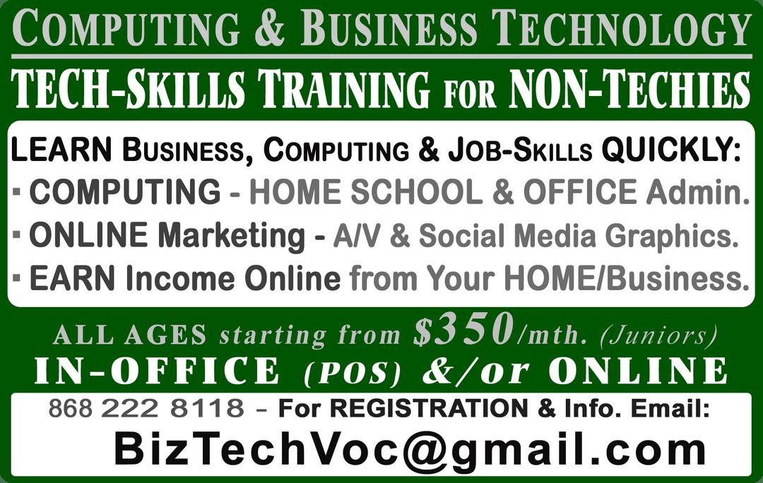 BizTech & BTSD - Business & Technology Skills Training